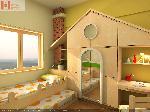 Bộ phòng ngủ trẻ em IMAX03