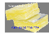 Bông thủy tinh lót bạc cách âm trần,sàn TT 32kg/m3 dày 50mm