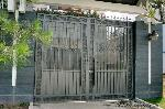 Cổng chính hoa sắt 9