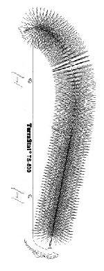 Điện cực phân tán sét TS-500
