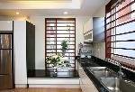 Tủ bếp KitchenID chất liệu sơn bóng và Laminate