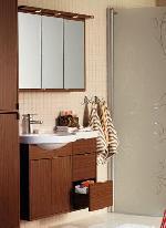Tủ chậu rửa và tủ gương MOON 900